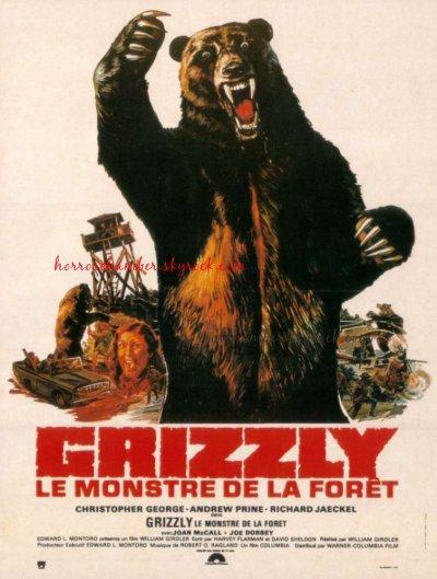 Grizzli, le monstre de la fôret