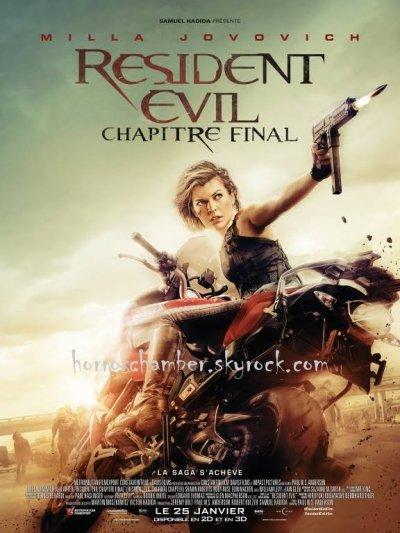Resident Evil chapitre final