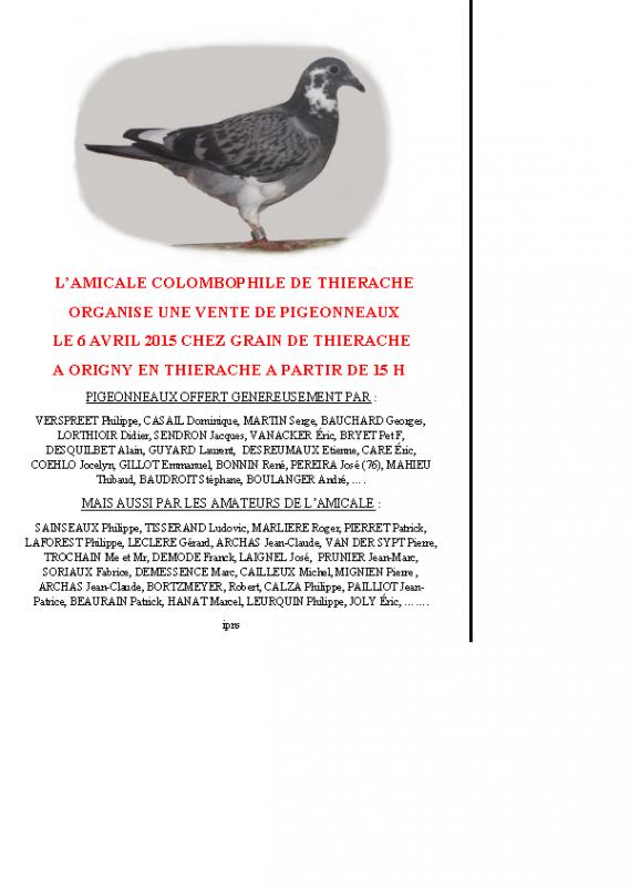 VENTE AMICALE DE THIERACHE 02