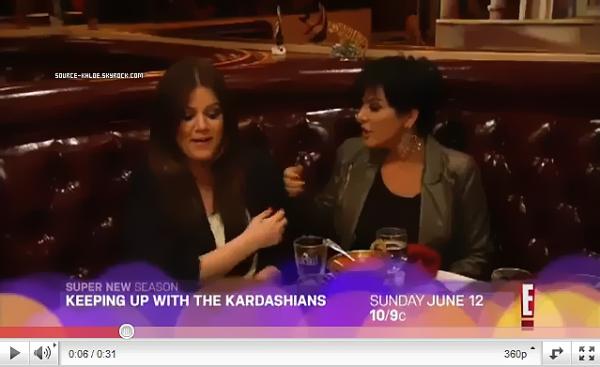 2 MAI 2011  : Khloe était à un match des Lakers pour supporter son mari Lamar. + Preview  : Keeping up with the Kardashians Saison 6 Qui débute le 12 juin au U.S.A. Hate de voir ?