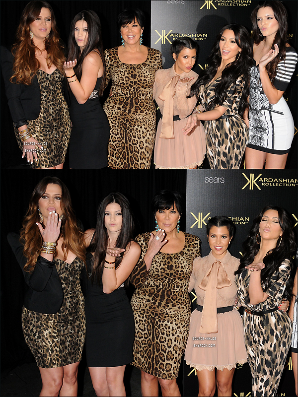 "17 AOUT 2011 :Khloe était au lancement de ""Kardashian Kollection"" by Sears."