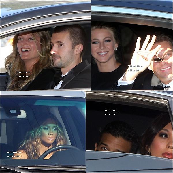 20 Aout 2011 : Les premières photos des invités du mariage de Kim kardashian son apparu .