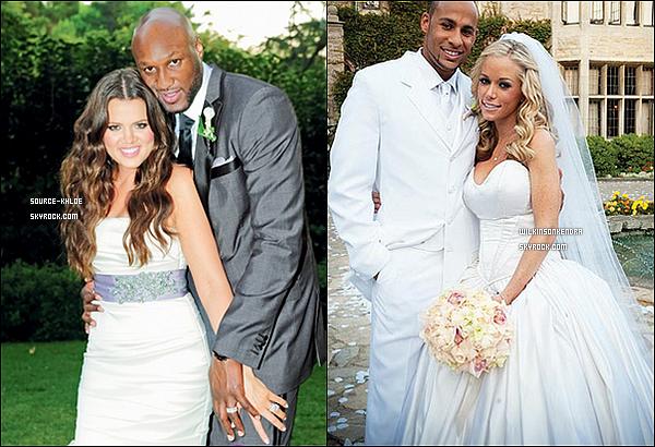 """SONDAGE / DIVERS    Khloé kardashian & kendra Wilkinson deux femmes du petit écran , deux femmes de la télé réalité . Deux histoires d'amour. Kendra & Hank. Mari - femme depuis le 27 Juin 2009 . Khloé & Lamar , eux se sont dit """" Oui """" 3 mois aprés les Baskett , le 27 septembre 2009 ."""