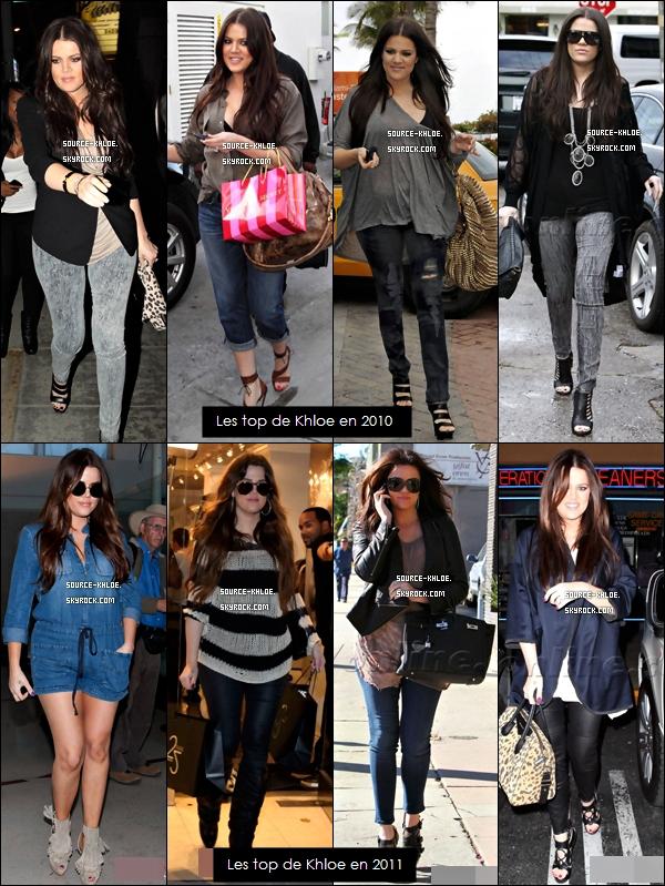 Voici les meilleurs tops  2010/2011 de  Khloe Kardashian
