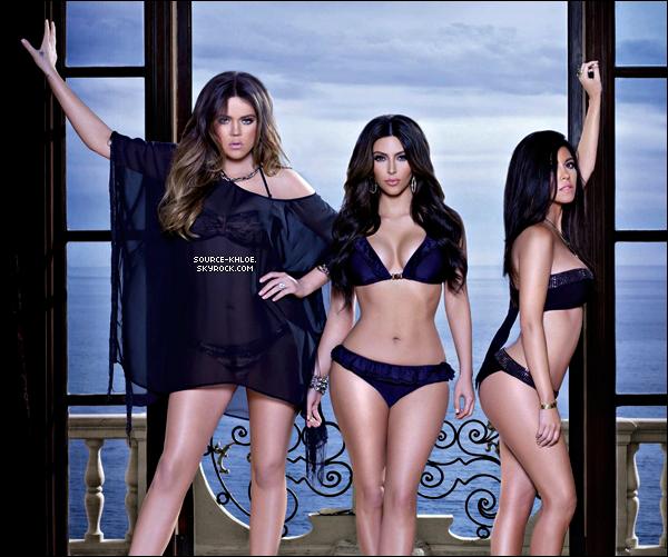 .    Photo : Nouvelle photo pour les maillots de bain de la Kardashian Kollection .T'aime ou Pas ? .