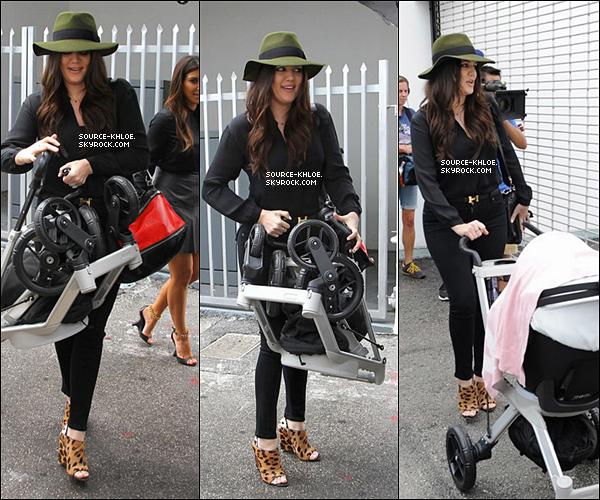 .          16/09/12 : Khloé, kim & Kourtney Kardashian ont été vu se rendant à Dash miami . Elle tournaient KKTM.