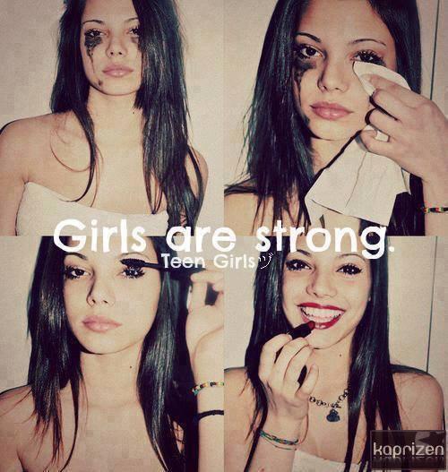 Je resterais forte devant les autres, mais au fond je suis bousillé.