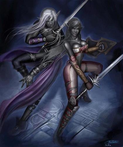Les Elfes Noirs (Drows)