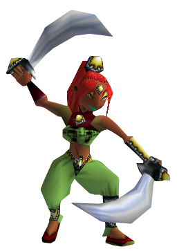 The Legend of Zelda : Ocarina of Time / Vallée Gerudo (1998)