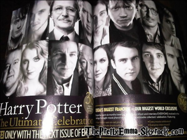 .                                  Scan du Magazine Empire Magazine Special Edition 2011 !  .