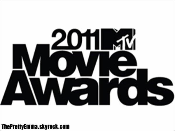 .  Harry Potter est nominé dans 6 categories au MTV movie awards dont trois ou EMMA est nominé :  .   - Meilleur film - Meilleure interprétation masculine (Daniel Radcliffe) - Meilleure interprétation féminine (Emma Watson) - Meilleur méchant (Tom Felton) - Meilleur combat (Daniel, Emma et Rupert VS les Mangemorts) - Meilleur baiser (Daniel et Emma)   . .  Vous pouvez dès a présent voter pour eux (non-stop) ICI !  La cérémonie aura lieu le 5 juin 2011 ! 8-p  .