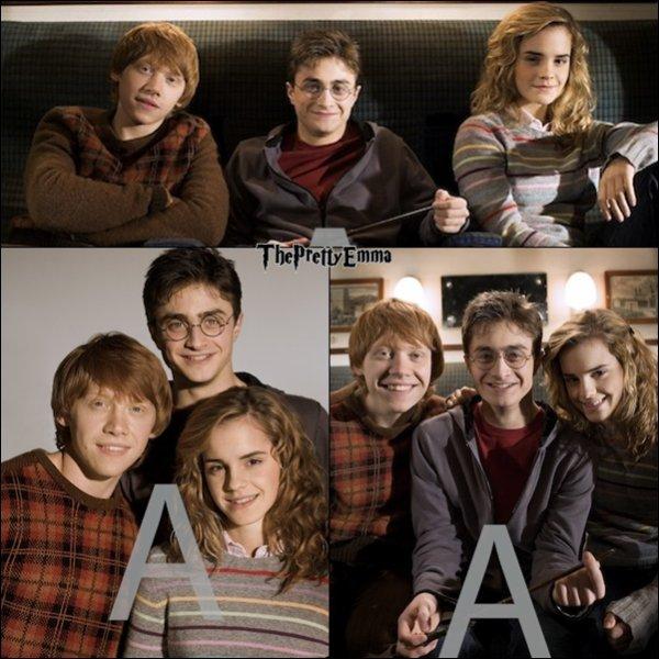 .Anciennes photos promotionnelles pour Harry Potter et l'ordre du Phoenix !  .