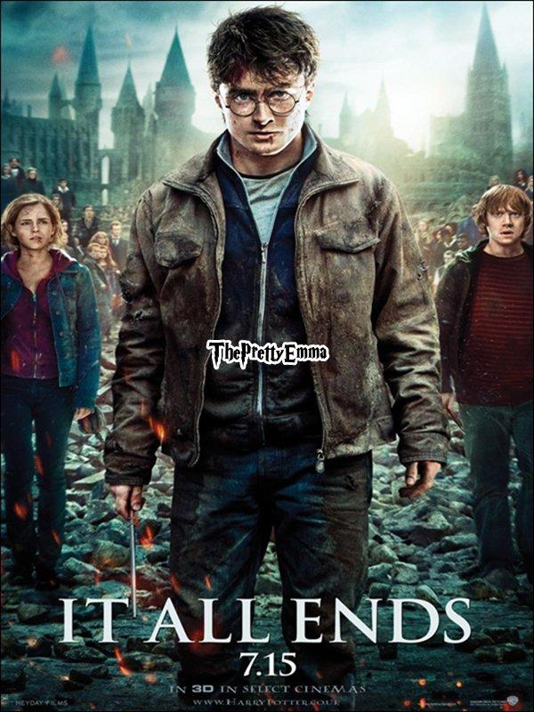 .Ancien/Nouveau photoshoot d'Emma pour Harry Potter et  le prince de sang-mêlé  !  .