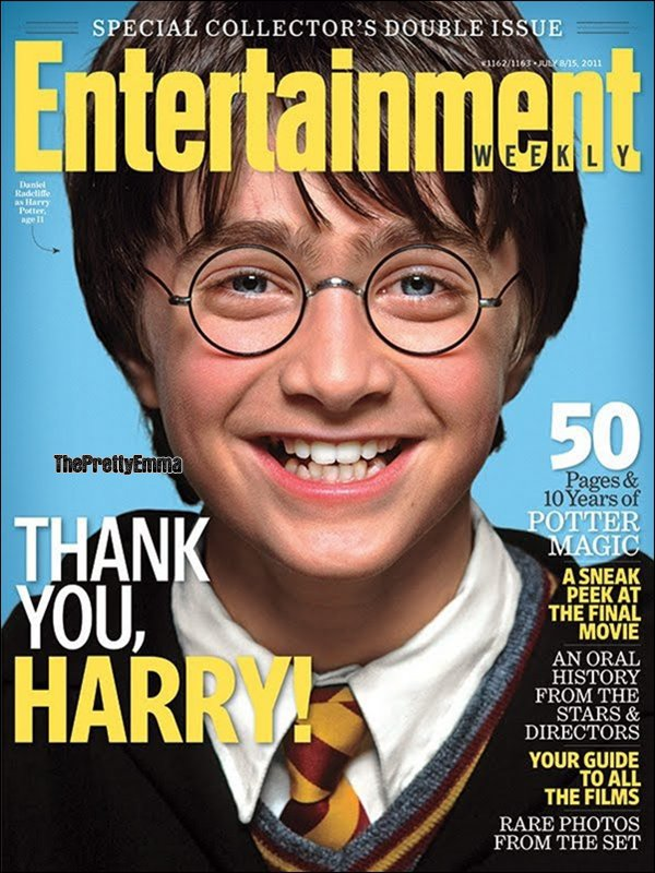 .ENTERTAINMENT WEEKLY fait un spéciale Harry Potter !  .