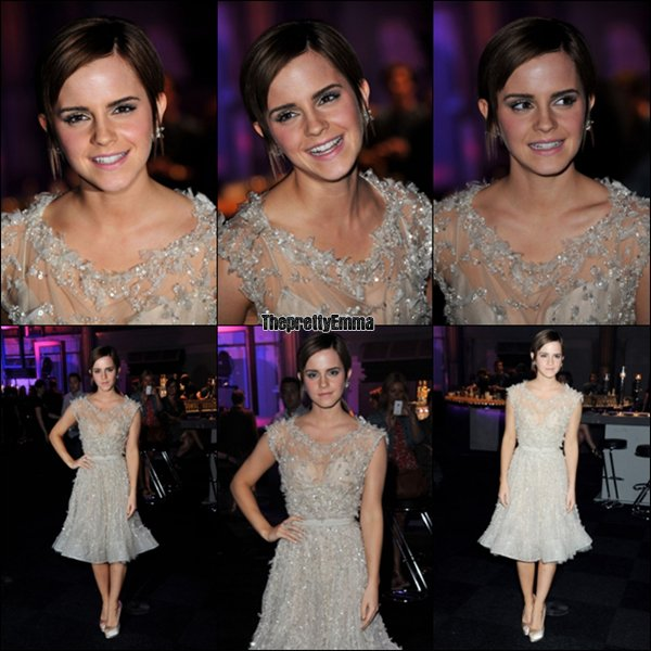 .07/07 : Emma à l'after party de l'avant première de Harry  Potter  7 partie 2 !   .