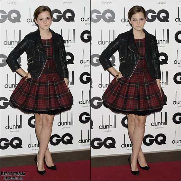.Emma à la cérémonie des GQ Men of the Year Awards 2011   .