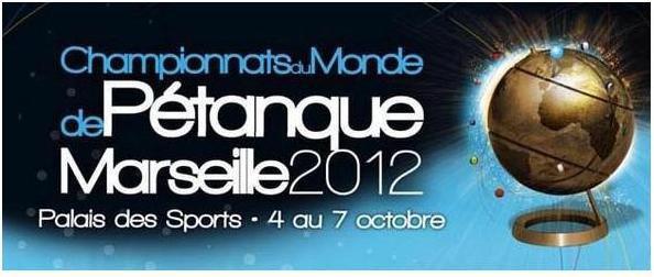 LES CHAMPIONNATS DU MONDE DE PETANQUE 2012 :