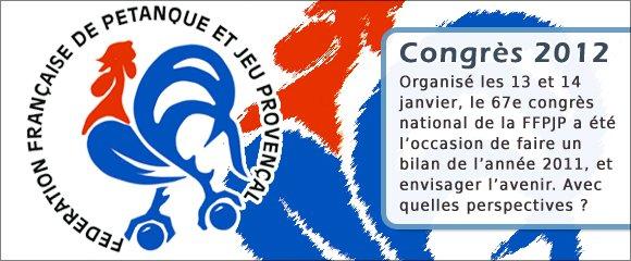 CONGRES ANNUEL DE LA F.F.P.J.P.: le discours du Président.