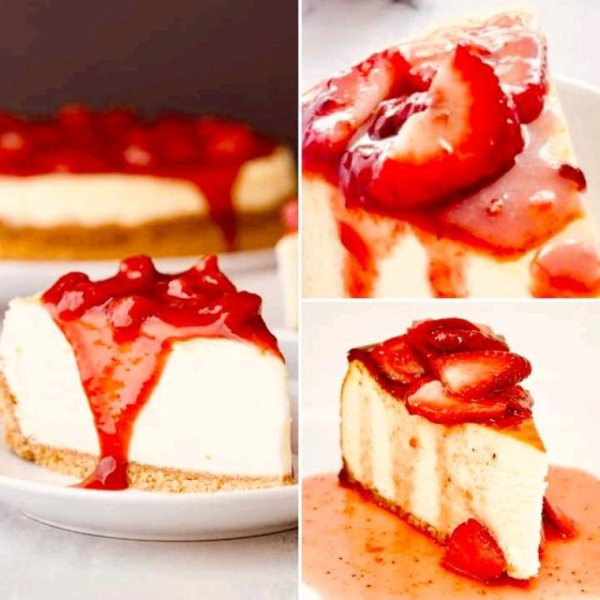 My lovely cheese cake strawbery