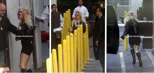 * Lady Gaga a été apperçut a Miami Beach*
