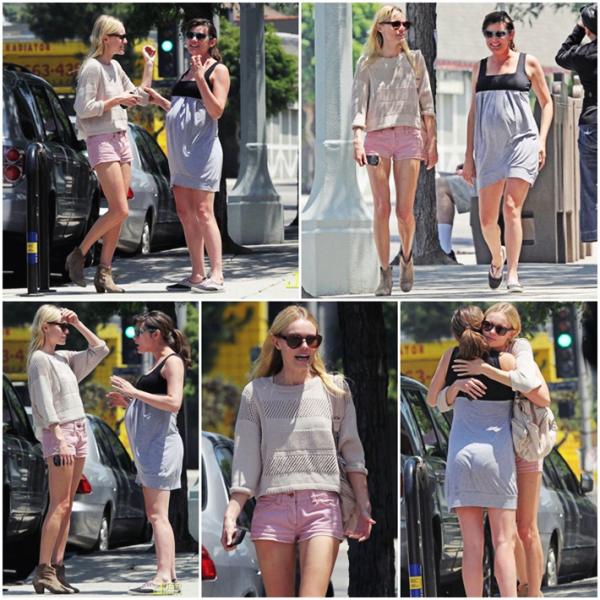 20 Juin 2011 - Kate et une amie à Silver Lake