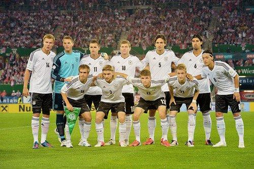 Allemagne 2 - 1 Autriche (11.09.2012)