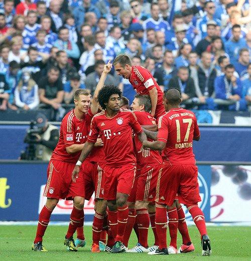 Schalke 04 0 - 2 Bayern Munich (22.09.2012)