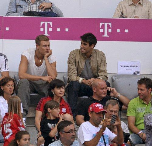 Holger pendant le match (24.08.2013)
