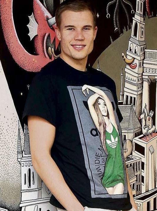 Holger lors de l'interview pour Bild (2.01.2014)