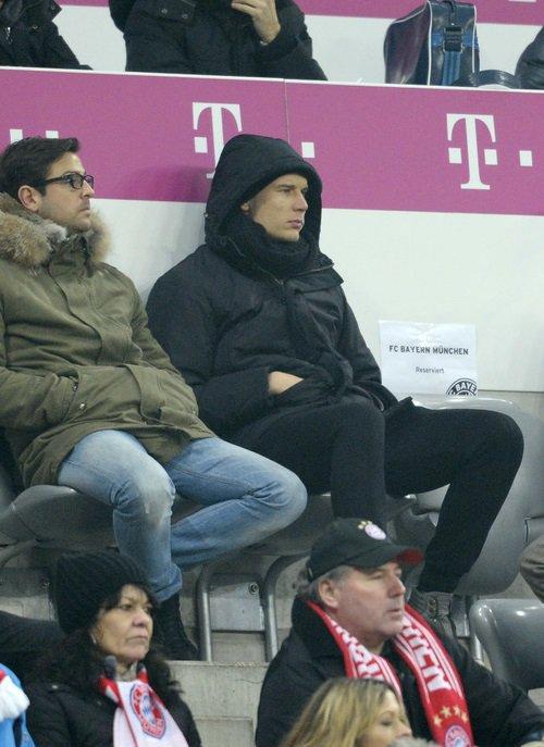 Holger pendant Bayern 5-0 Eintracht Francford (02.01.2014)