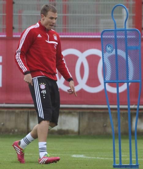 Holger à l'entrainement (19.04.2014)