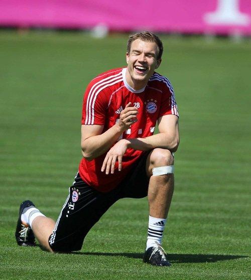 Holger à l'entraînement (05.05.2014)