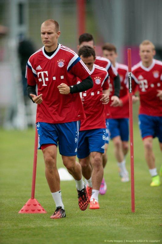 Holger à l'entraînement (9.07.2014)