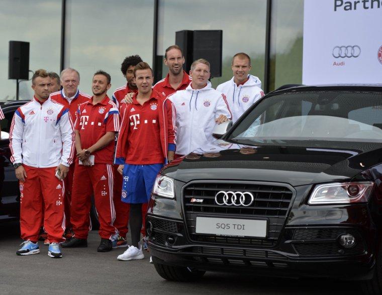 Fc Bayern pour Audi (23.08.2014)