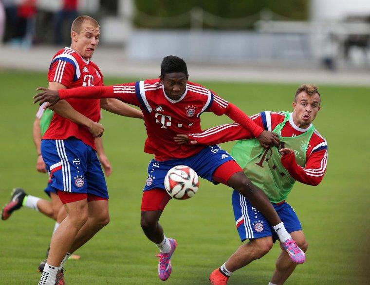 Holger à l'entrainement (26.08.2014)