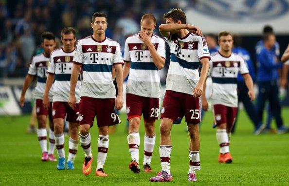 Schalke 04 1 -  1 Bayern Munich (30.08.2014)