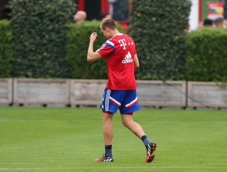 Holger à l'entraînement (03.09.2014)