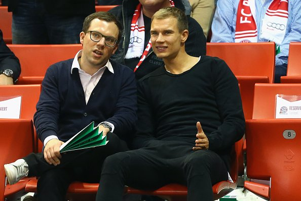 Holger pendant le match de basket (20.11.2014)