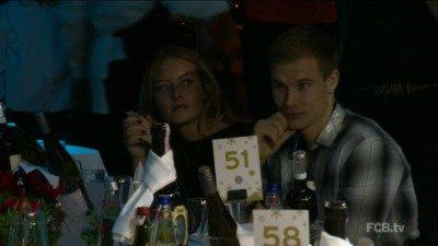 Holger à la fête de Noël du Bayern (07.12.2014)