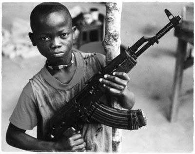 Les enfants soldats.