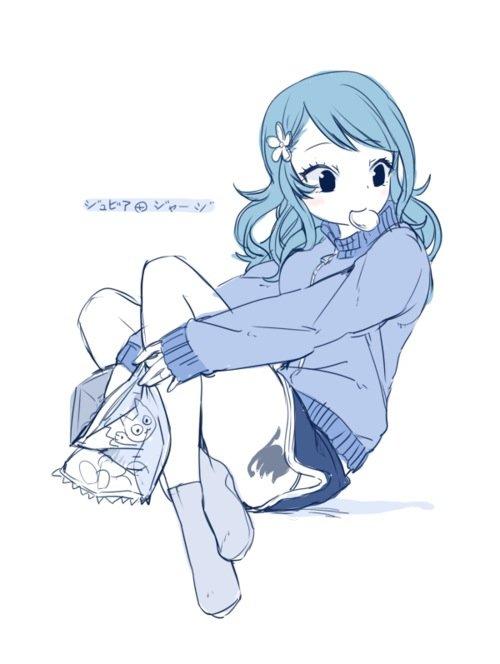 Petit article cadeau pour Miharu et les fans de Juvia ou Gruvia ! (article 100% image)