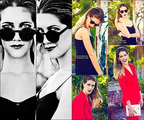 . Découvre Ou Redécouvre un magnifique photoshoot de Clara Alonso pour Carola Roca réalisé en 2013.  Je trouve ce photoshoot très réussi ! Je pense que je mettrais un TOP car toutes ses tenues sont parfaites ! Qu'en dis-Tu ?   .