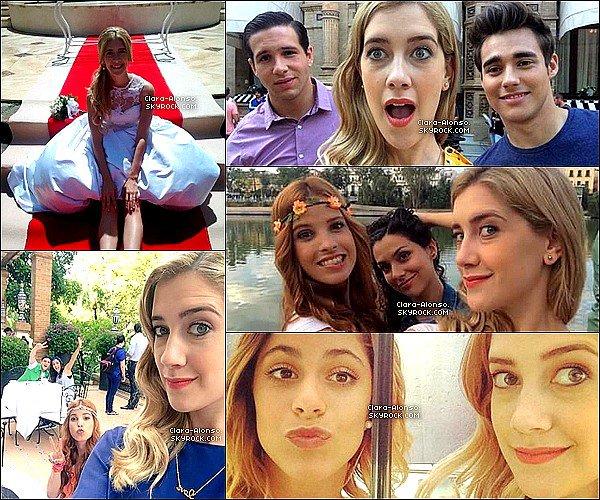 .  Découvre nouvelles photos de Clara en tournage de Violetta sont apparus sur les réseaux sociaux !  .