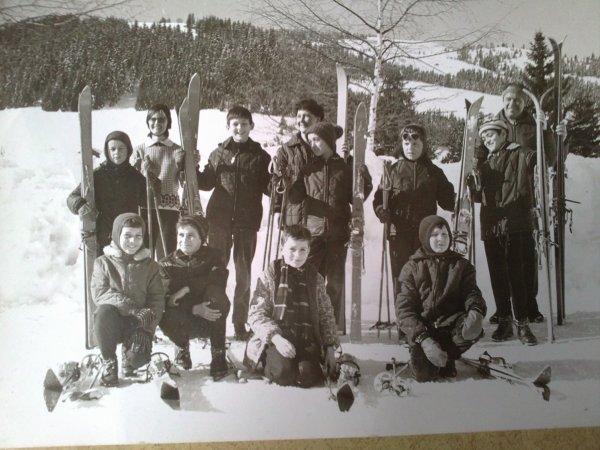 Megève, La Mottaz, janvier 66, un temps béni...
