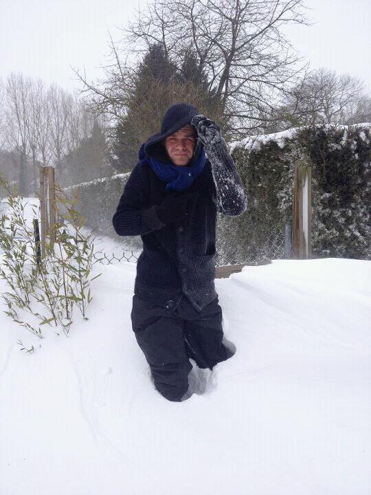 Keen'v a la neige