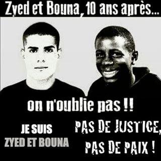 Hommage A Zyed et Bouna 10 ans Apres