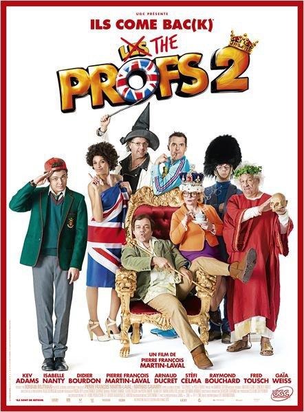 """J'ai été voir """"The Profs 2"""" au cinéma le 1er Juillet!!!!"""