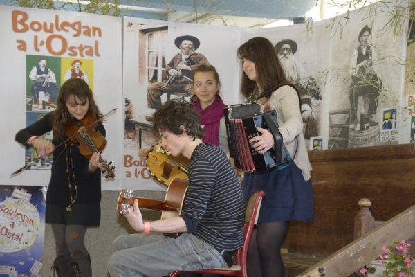 BOULEGAN L'OSTAL à Saint Jean du Gard, les 30 et 31 Mars 2013