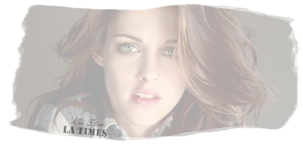 Kristen pour le LA Times : Let's follow Kristen Stewart on Kri-Stew  ©