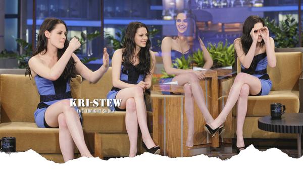 Kristen - 3 novembre - The Tonight Show avec Jay Leno :